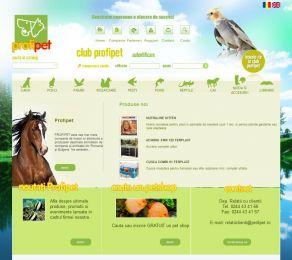 Catalog online pentru animale - Profipet