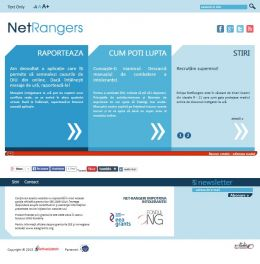web design site utilitar - NetRangers
