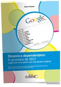 Ghidul PDF Dinamica dependentelor in procesul de optimizare a site-urilor pentru motoarele de cautare